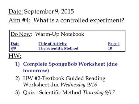 Creating Math Worksheets Pdf Aim How Do Scientist Organize Their Experimental Information  Subtraction Worksheets Year 1 Excel with 3rd Grade Sight Words Worksheets Excel Date September   Aim  What Is A Controlled Experiment Math Puzzle Worksheet