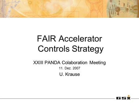 FAIR Accelerator Controls Strategy
