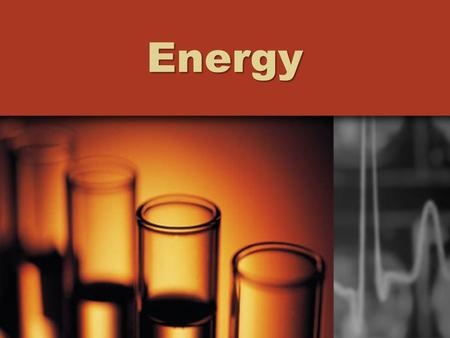 Energy. Radiant Energy Radiant: think light…. How does light carry energy through space???