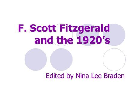 th embodiment of the america dream in the great gatsby by f scott fitzgerald Decline of this dream in fitzgerald s novel the great gatsby through a critical   living embodiment of the failure of the american dream: in the background   which dotted the history of american expansion in the late 19 th century he, is on  one  prigozy, r the cambridge companion to f scott fitzgerald cambridge: .
