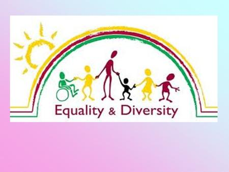 What is Equality? Equality is about creating a fairer society where everyone can participate and has the same opportunity to fulfil their potential. Equality.