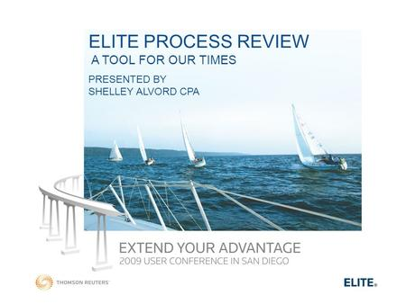 ELITE PROCESS REVIEW A TOOL FOR OUR TIMES PRESENTED BY SHELLEY ALVORD CPA.