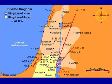 King Jehoshaphat Faces War (1) Judah is being invaded by the Moabites, Ammonites and Meunites – already at Engedi What is the threat? Absolute destruction!