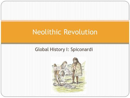 Global History I: Spiconardi