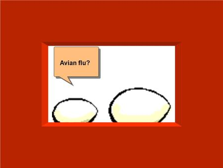 Avian flu?. In humans? Avian Influenza in Humans- 2004 Silvio Pitlik, MD Mar 17, 2004.
