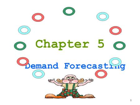 Chapter 5 Demand Forecasting 1. 1.Importance of Forecasting  Helps planning for long-term growth  Helps in gauging the economic activity (auto sales,