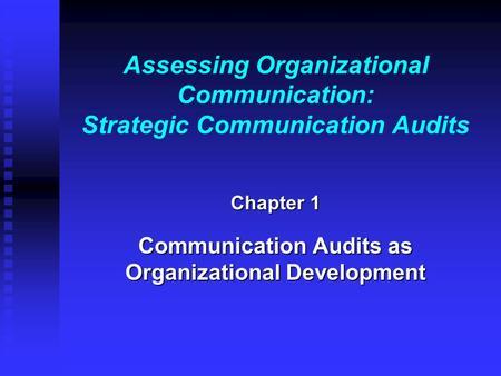Organizational communications strategy essay