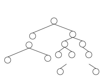 Binary tree deletion animation
