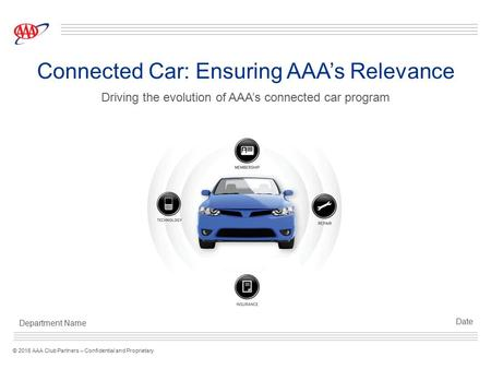 Connected Car: Ensuring AAA's Relevance