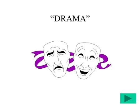 """DRAMA"" Types of Drama Tragedy: [solemn, personal, religious & Social Issues] Tragic Flaw & Catharsis."