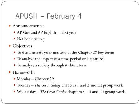 chapter 2 apush terms Apush chapter 27 terms interstate highway act definition: apush ch 38 terms apush chapter 26 chapter 37 apush apush chapter 37 key terms and people.