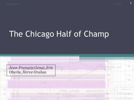 The Chicago Half of Champ