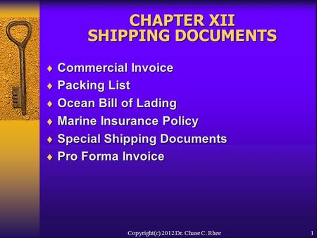 Classification Of Commercial And Regulatory Documents  Ppt Video