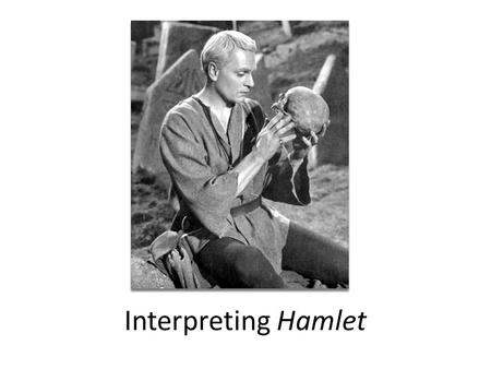 an examination of the pivotal point in the play hamlet by william shakespeare Why should you care about yorick's skull and the graveyard in william shakespeare's hamlet we have the answers here, in a quick and easy way.