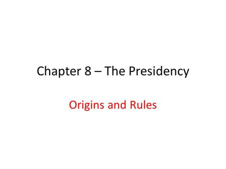 "Chapter 8 – The Presidency Origins and Rules. How does this cartoon illustrate Nixon's comment that ""Those on the right can do what only those on the."