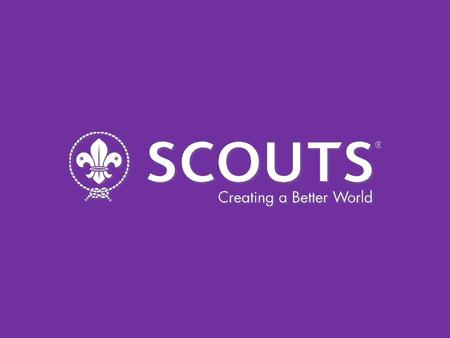 THE EUROPEAN SCOUT REGION Craig Turpie Chairman, European Scout Committee.