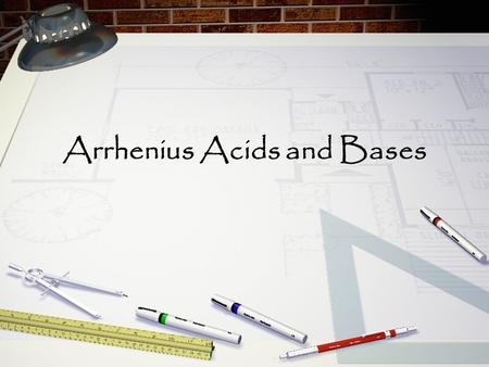 Arrhenius Acids and Bases. Arrhenius acid = acid that produces H+ in aqueous solutions Arrhenius base= base that produces OH- in aqueous solutions.
