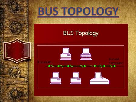 A bus topology is a type of network setup where each computer and network device are connected to a single cable or backbone. A bus topology is multipoint.