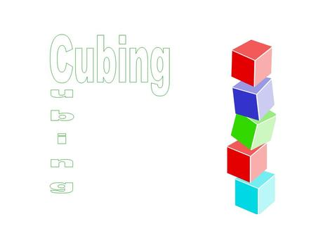 Cubing is a great way to differentiate instruction based on student interest and readiness. A cube includes six faces with a different activity on each.