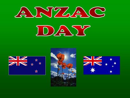 Australia & New Zealand Army Corp New Zealand Turkey/Gallipoli Eastern Europe.