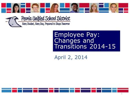 1 Employee Pay: Changes and Transitions 2014-15 April 2, 2014.