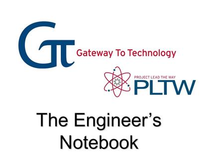 The Engineer's Notebook. What is an Engineer's Notebook? An engineer's notebook is a book in which an engineer will formally document, in chronological.