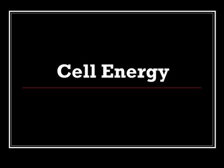 "Cell Energy. Energy from the sun Plants use the sun's energy to make sugar. The sugar is called ""glucose"". Glucose is stored in the plant and used by."