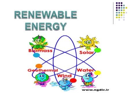 Energy exists freely in nature. Some of them exist infinitely (never run out, called RENEWABLE), the rest which have finite amounts (they took millions.