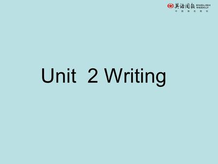 Unit 2 Writing. Writing a personal essay A personal essay is a short piece of writing that describes a personal experience or something about a person's.