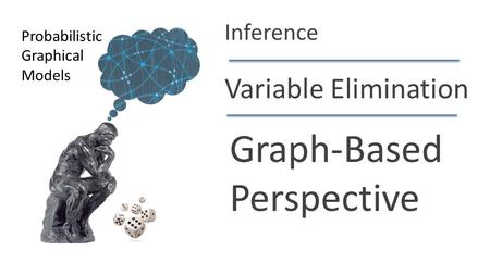 Daphne Koller Variable Elimination Graph-Based Perspective Probabilistic Graphical Models Inference.