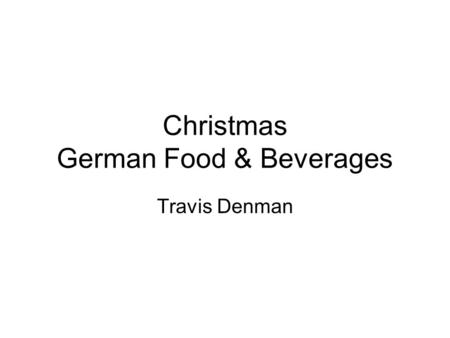 Christmas German Food & Beverages Travis Denman. Peppermint Cocoa Categories: Beverages, Christmas Yield: 8 Servings –3 (4 1/2) peppermint sticks –1.