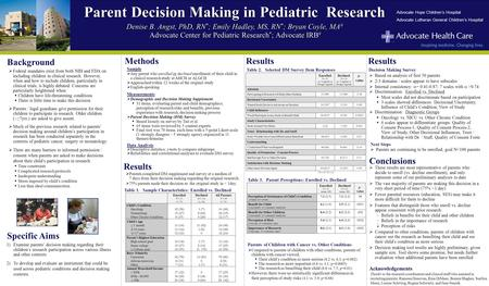  Federal mandates exist from both NIH and FDA on including children in clinical research. However, when and how to include children, particularly in clinical.