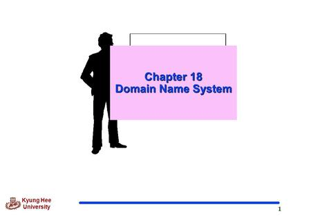 1 Kyung Hee University Chapter 18 Domain Name System.