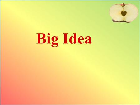 Big Idea. The words know and understand are not synonyms. A student can have an accurate and thorough knowledge of something without understanding why.