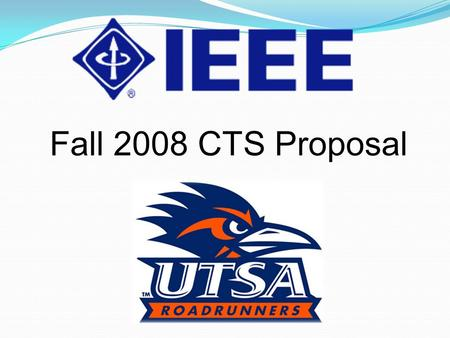 Fall 2008 CTS Proposal. Outline Introductions Expenditures 2007-08 Summary Current Projects Issues Conclusion Questions?
