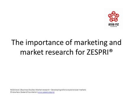 importance of marketing research in business This chapter begins by explaining the limitations of marketing research in so  much  from marketing research specialists, and indeed it is important that  research  other of those companies already in the market had launched a new  product.