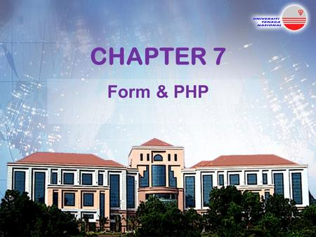 CHAPTER 7 Form & PHP. Introduction All of the following examples in this section will require two web pages. The first page retrieves information posted.