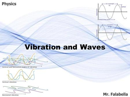 Vibration and Waves. All around us we see things that wiggle and jiggle. Even things too small to see, such atoms, are constantly wiggling and jiggling.