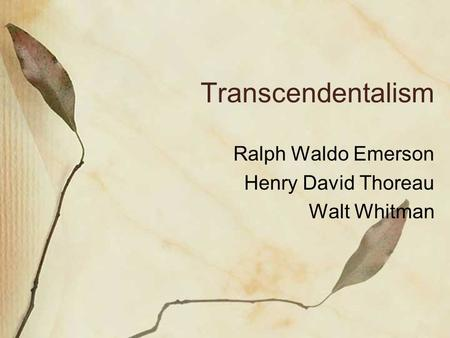 Henry David Thoreau's Walden: Summary and Analysis