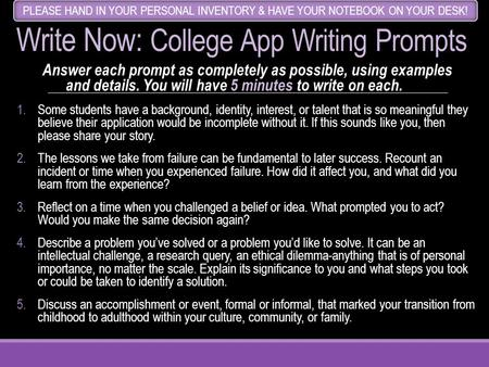 common app essay prompts 14-15