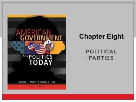 Copyright © 2014 Cengage Learning POLITICAL PARTIES Chapter Eight.
