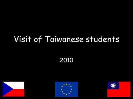 Visit of Taiwanese students 2010. Getting to know each other About me This is me! Richard Selby.