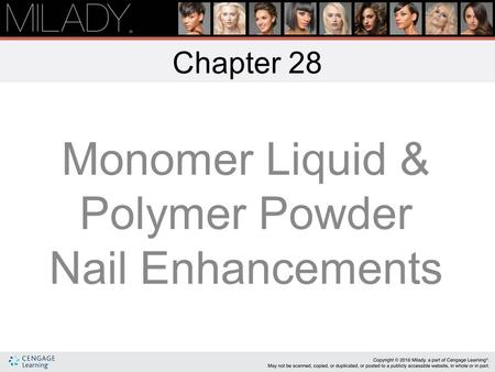 Monomer Liquid & Polymer Powder Nail Enhancements