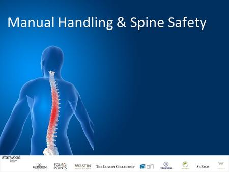 Manual Handling & Spine Safety. Aims and Objectives Provide sufficient understanding and knowledge of Manual Handling, the risks involved and the control.