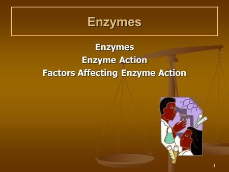 the nature and action of enzymes Transcript of determining the nature of enzyme cofactors an enzyme found in many fruits and vegetables, such as potatoes, avocados, and apples.