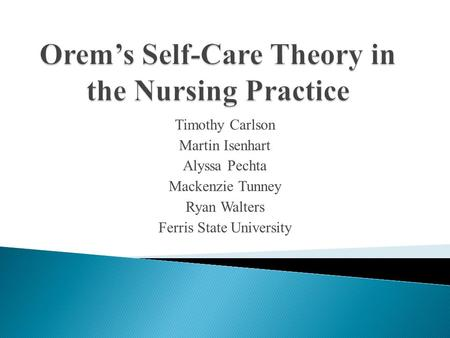 integrating nursing theory into practice Here is the best resource for homework help with nurs 5327 : nursing theory at university of texas, arlington find nurs5327 study guides, notes, and practice.