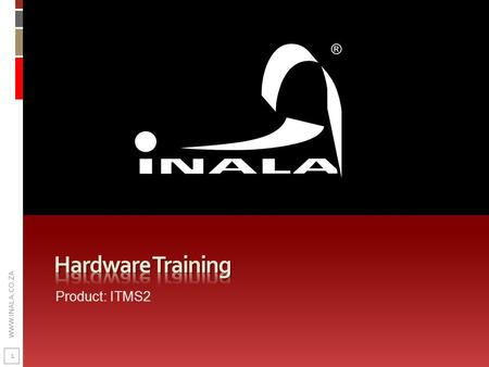 Hardware Training Product: ITMS2.