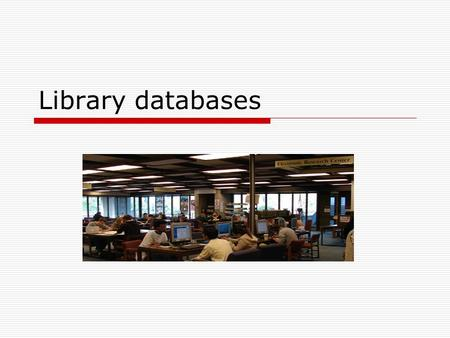 Library databases. database NOUN:also data base Computer Science A collection of data arranged for ease and speed of search and retrieval. Also called.