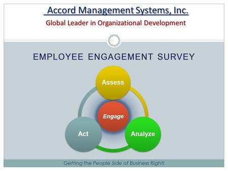 Accord Management Systems, Inc. Global Leader in Organizational Development Accord Management Systems, Inc. Global Leader in Organizational Development.