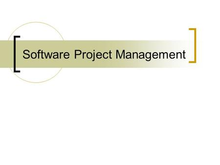 Software Project Management. Contents Project Management  Metrics for Process and Projects  Estimation  Project Scheduling  Risk Management  Quality.